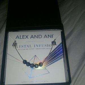 NWT Alex and Ani Crystal Infusion bracelet